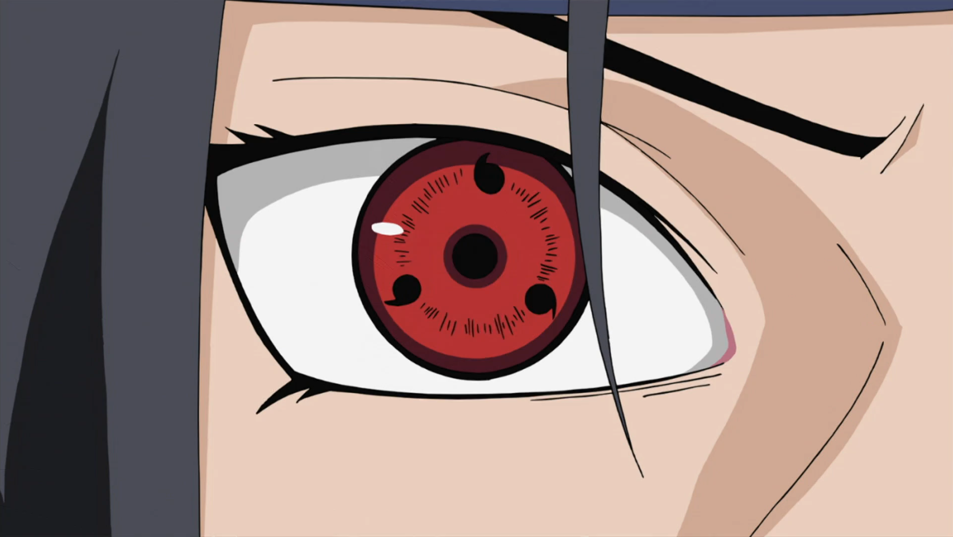 the evolution of the sharingan anime